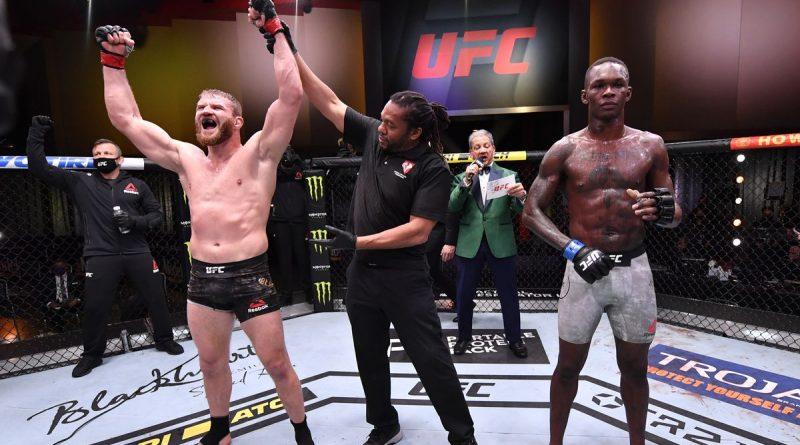 Jan Blachowicz Stuns Unbeaten Israel Adesanya at UFC 259