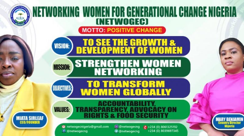An NGO NETWOGEC celebrates Mother's Day in 2021 conference
