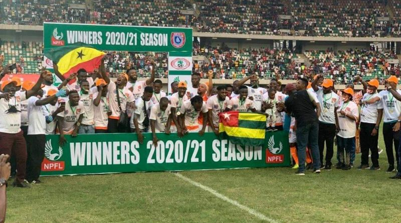 SWAN, NUJ, Dakkada, others congratulate new NPFL champions, Akwa United